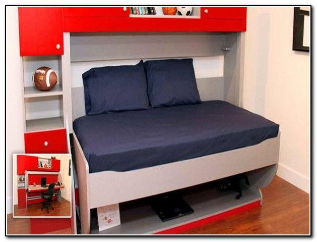 Bunk Bed Desk Combo Ikea  Desk Bed Ideas  Pinterest