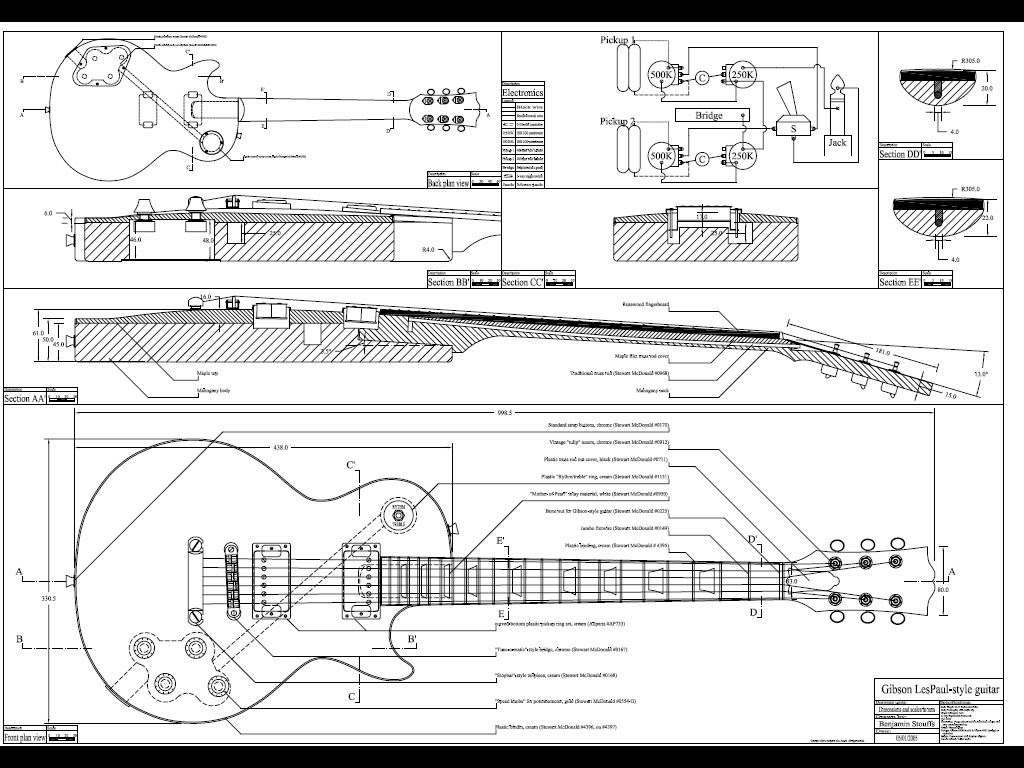 les paul special 2 wiring diagram
