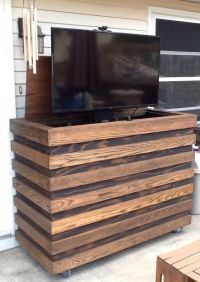 Plans To Build Outdoor Tv Cabinet  Cabinets Matttroy