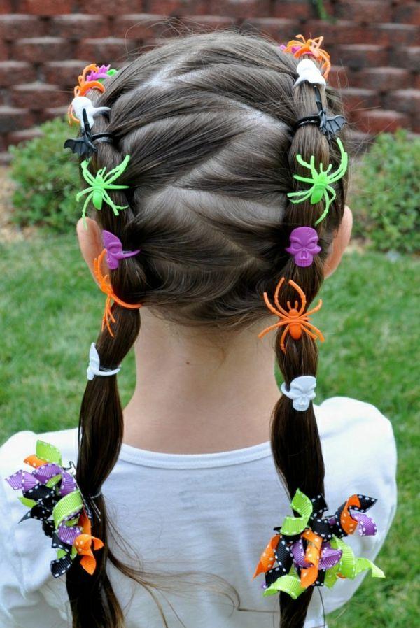 Super Schöne Halloween Frisuren Für Mädchen Frisuren Pinterest