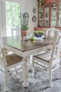 Antique Dining Table Updated with Chalk Paint | Chalk ...