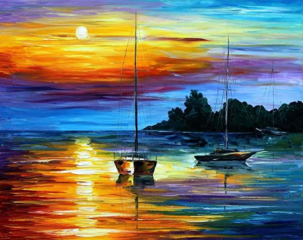 Sunset Paintings Famous Artists Florida