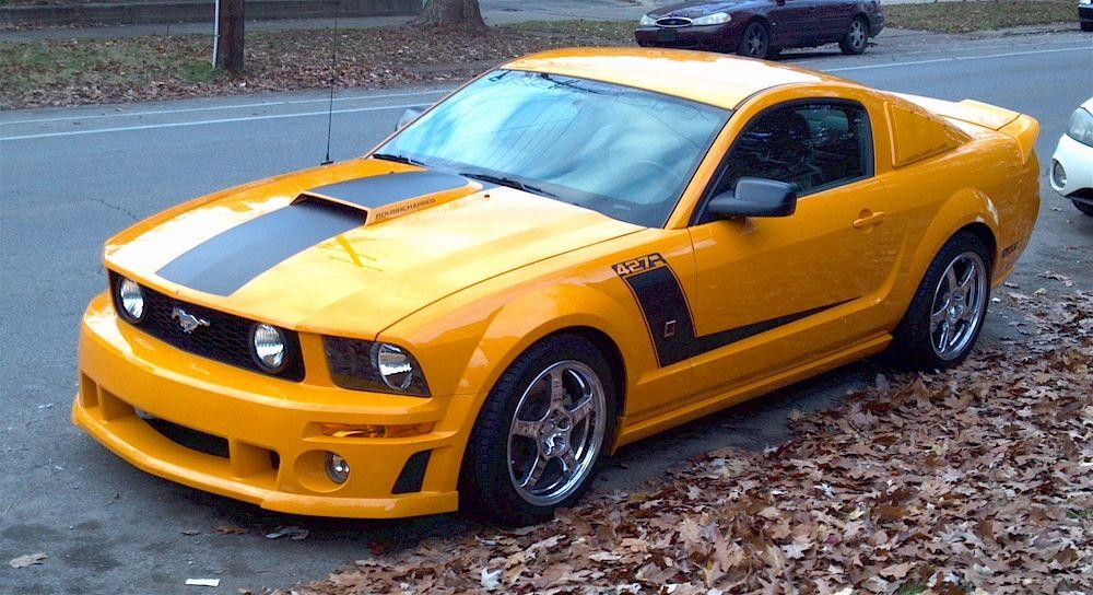 Grabber Mustang Orange Roush 2007 427r