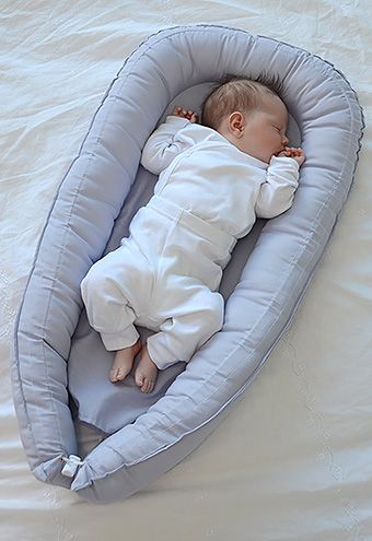 A Baby Nest From Sweden Babynest Is Mattress With High Soft Edges