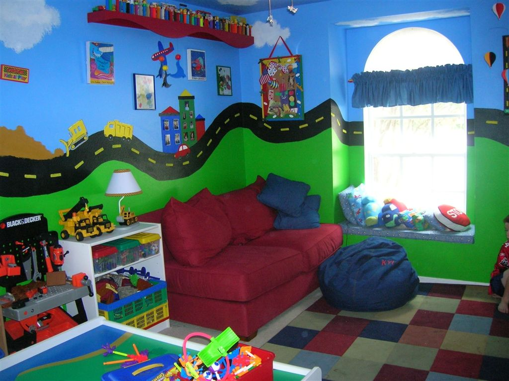 boys playroom 1 quotdanger construction zonequot boys play game