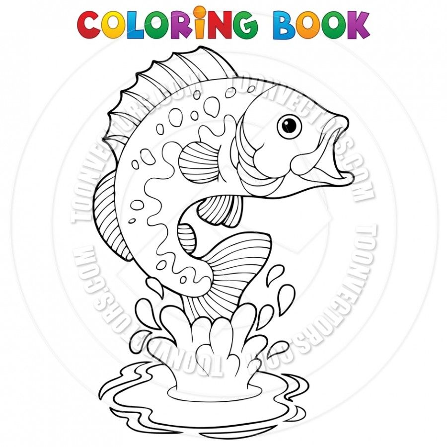 Freshwater Fish Coloring Pages Fische Pinterest Freshwater