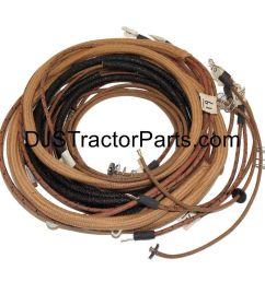wiring harness kit tractors with 1 wire alternator allis chalmers on allis b engine  [ 1280 x 1280 Pixel ]
