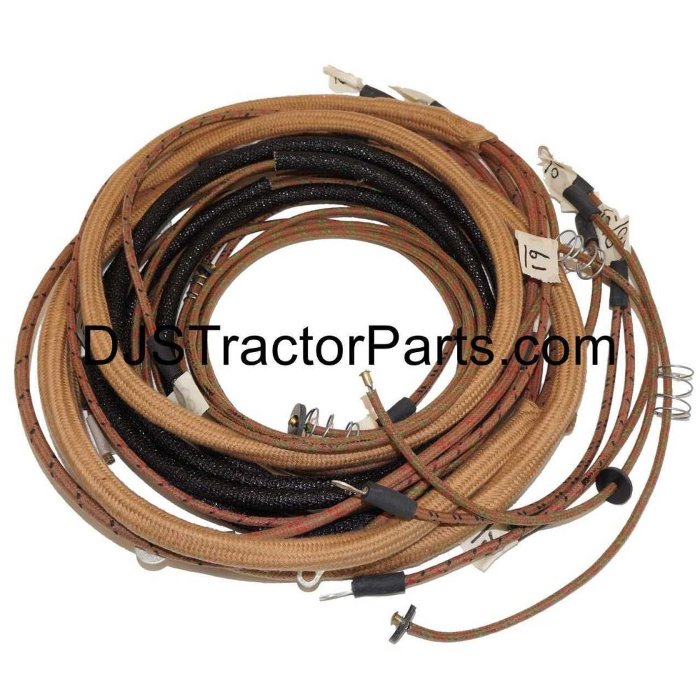 medium resolution of  wiring harness kit tractors with 1 wire alternator allis chalmers on allis b engine