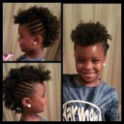 little girl mohawk. braids
