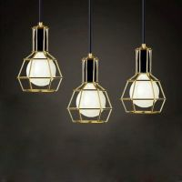American Vintage Edison Pendant Lamps Chrome Bulb Holder ...