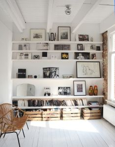 Diy shelves ideas tidy homes for new years clean spiration also rh pinterest