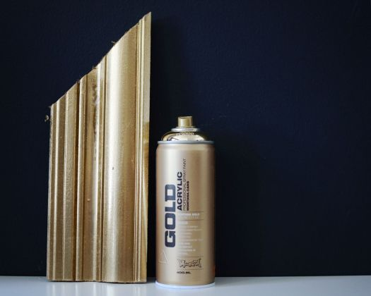 Montana Gold Spray Paint If You Want The Look Of Leaf From A