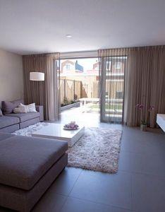 Inrichting en ontwerp keuken woonkamer interieurstylist showhome also rh pinterest