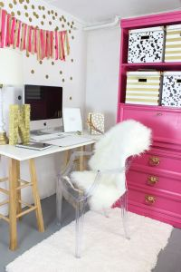 My home tour and saying goodbye to New York | Office nook ...