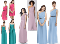 Dresses For Your Teenage Bridesmaids (That Match The Older ...
