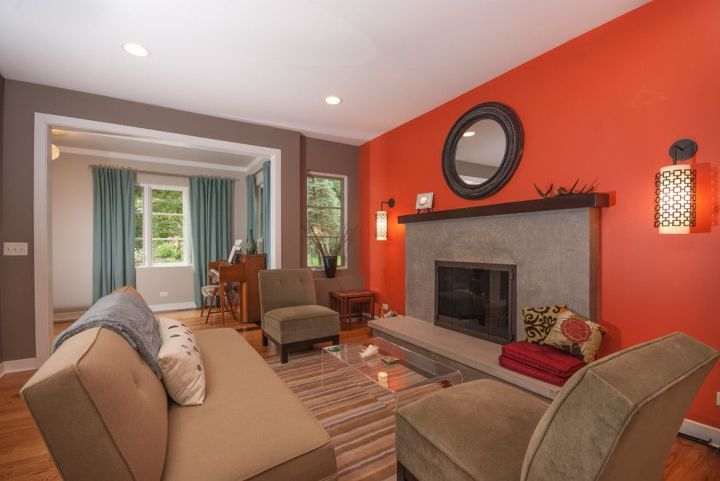 Burnt Orange And Brown Living Room Property living room ideas with burnt orange walls | conceptstructuresllc