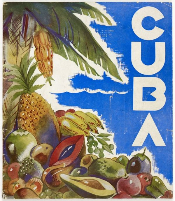 Cuban Vintage Poster. Cuba