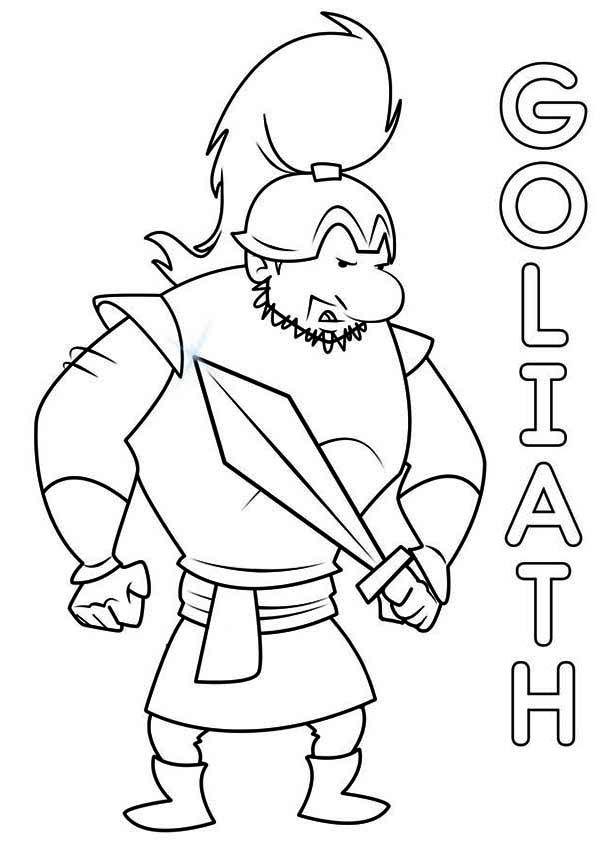 #DAVIDandGOLIATH The Mighty Goliath ready for Battle