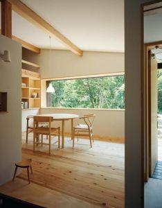 Habuka mountain retreat  small timber framed ski cabin in the japanese alps house designtimber also rh pinterest