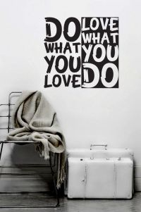 Wall Decal Quote Text Vinyl Sticker Home Decor Art Mural