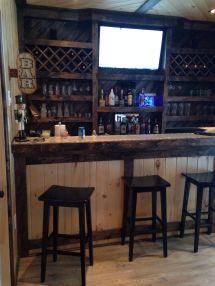 Small Man Cave Garage Bar Ideas