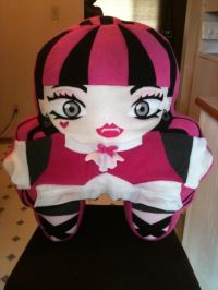 Monster High Draculaura Custom Pillow (email ...