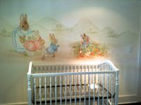 peter rabbit nursery mural | Nursery Ideas. | Pinterest ...