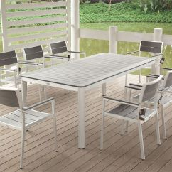 Aluminum Outdoor Chairs Living Room With Ottoman White Cast Furniture Download Page