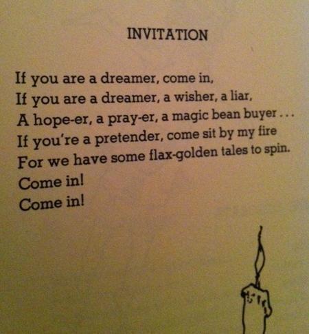 shel silverstein the invitation Inviviewco