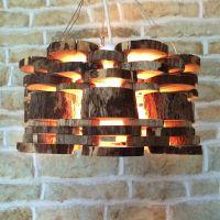 Wooden Log Light Fixture | verlichting | Pinterest | Logs ...