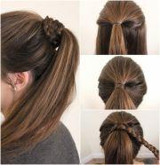 pony hairstyles medium length