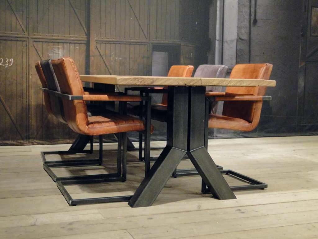 Industriele tafel Medici  ROBUUSTE TAFELS Direct uit