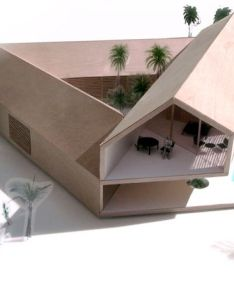 brothers families one house inner garden  modular project that shows simple architectural components can create mythical places also triangle  mrt pinterest rh za