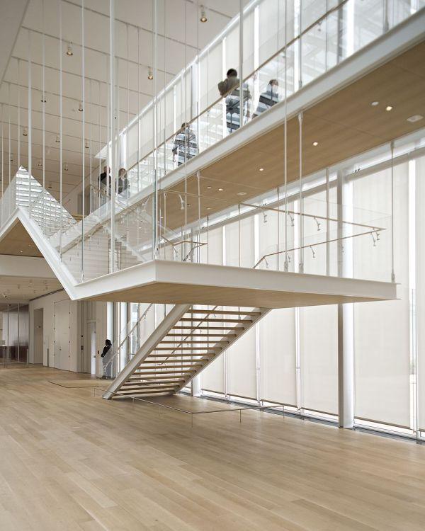 Art Institute Chicago Renzo Piano Stair