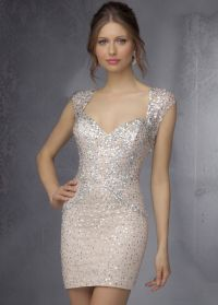 Sticks & Stones by Mori Lee 9288 Sparkling Sequin Tight ...