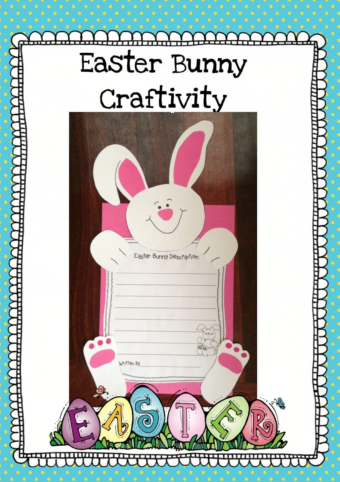 Cute Easter Bunny Craftivity