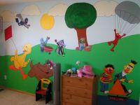 Sesame Street kids bedroom, This is my daughters Sesame ...