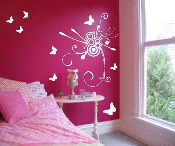 Teen Room Designs, Amazing Wall Painting Ideas For Girls