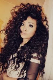 big curly weave hairstyles fade