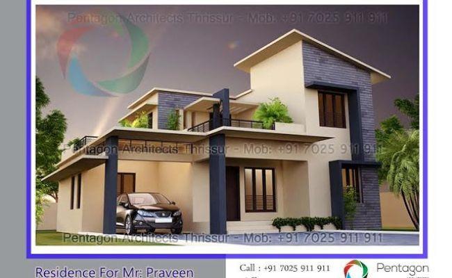 Modern Budget 3 Bedroom Beautiful Villa, Small Budget Home Plans