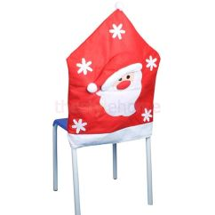 Christmas Folding Chair Covers Cheap And Tablecloths 1x Santa Dining Party Table Decoration