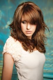 cute haircuts long thick wavy