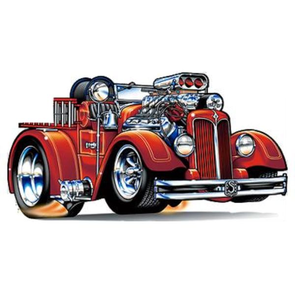 Fire Truck Cartoons Trucks And Cars Toons