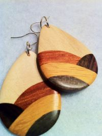 wood earrings | My Style Pinboard | Pinterest | Wood ...