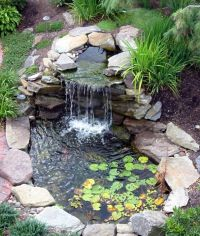 Landscaping And Outdoor Building , Relaxing Waterfalls ...