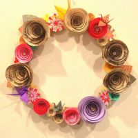 Creative Paper Crafts from Recycled Materials to Decorate