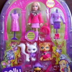 Walmart Play Kitchen Sets Island With Shelves Polly Pocket Sparklin' Pets Fashion Doll By ...