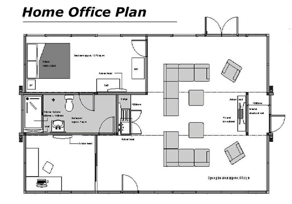 Home Office Floor Plans Home Office Floor Plans Dream Home