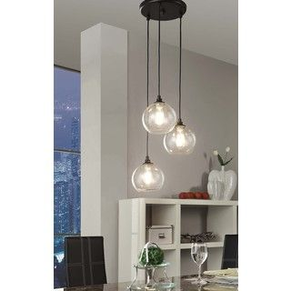 Indoor 3 Light Copper Crystal Pendant Chandelier Ping Great Deals On