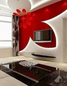 red gypsum false ceiling design for living room also pin by karla jones on exquisite rooms pinterest rh